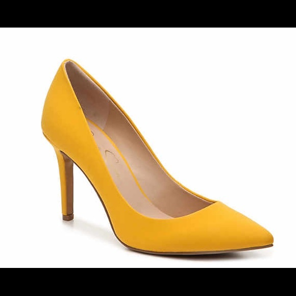 ea264f998 Jessica Simpson Shoes | Levin Mustard Yellow Pumps Nwob | Poshmark